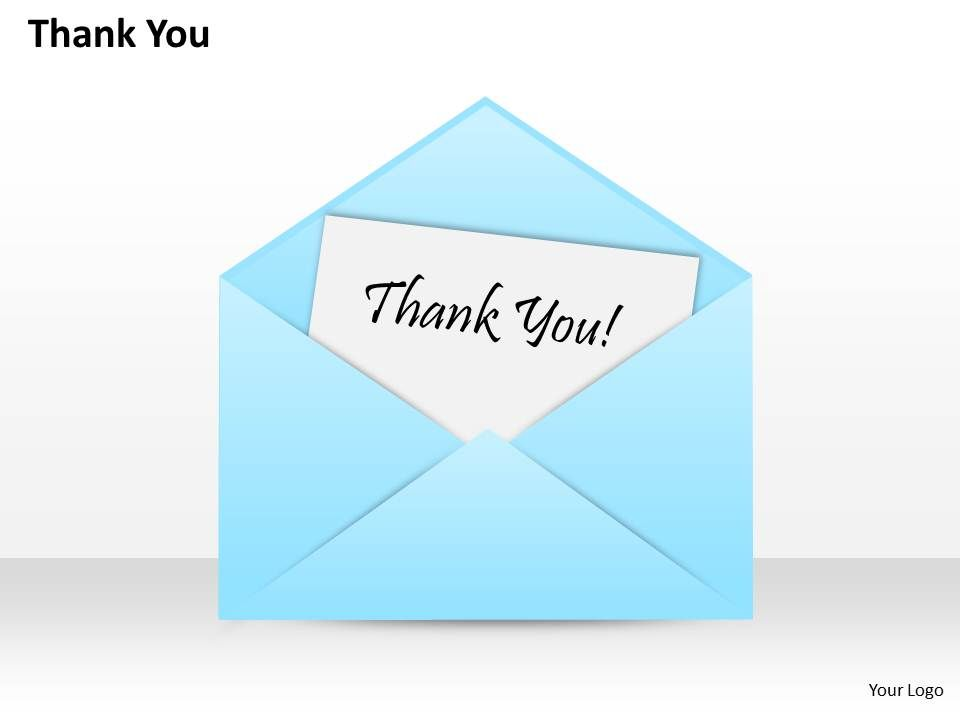 0314 thank you in an envelope presentation graphics presentation
