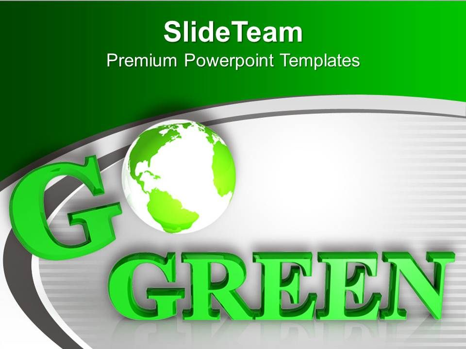 0413 be eco friendly save environment powerpoint templates