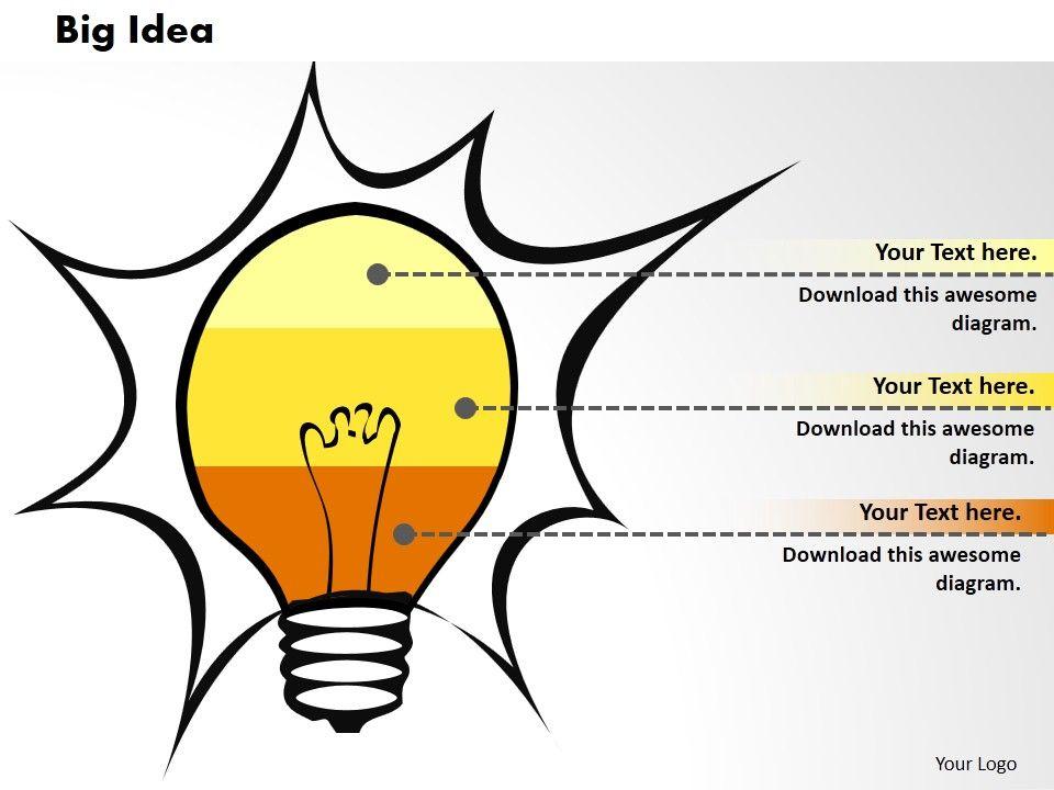 0414_brilliant_idea_bar_chart_illustration_powerpoint_graph_Slide01