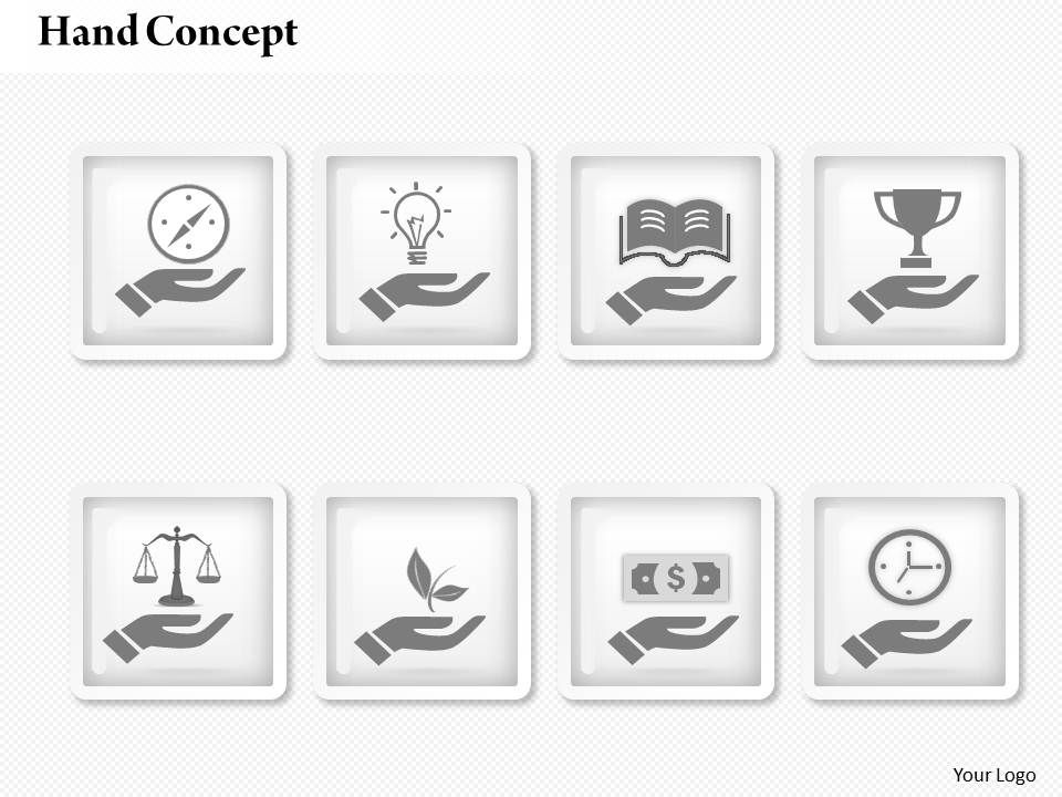 0414 business consulting diagram 3d icons for hand concept