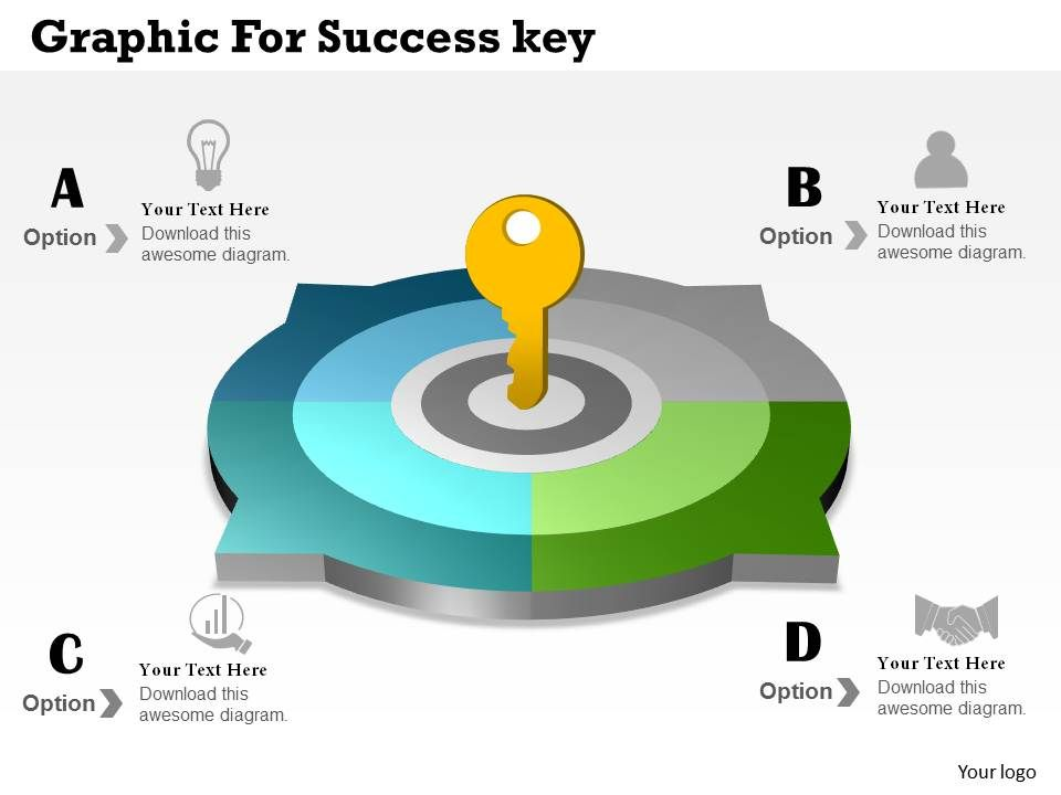 0414 Business Consulting Diagram Graphic For Success Key