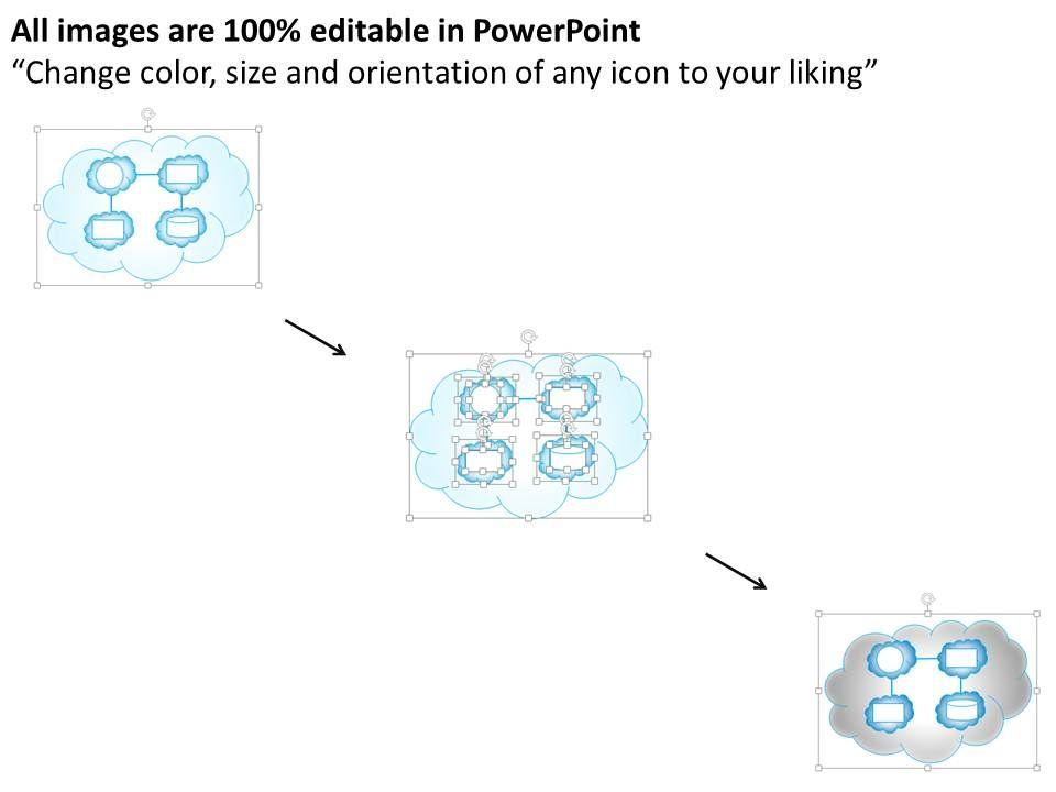 0414 Cloud Computing Architecture Diagram Powerpoint Presentation