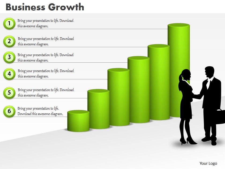0414_column_chart_business_deal_illustration_powerpoint_graph_Slide01
