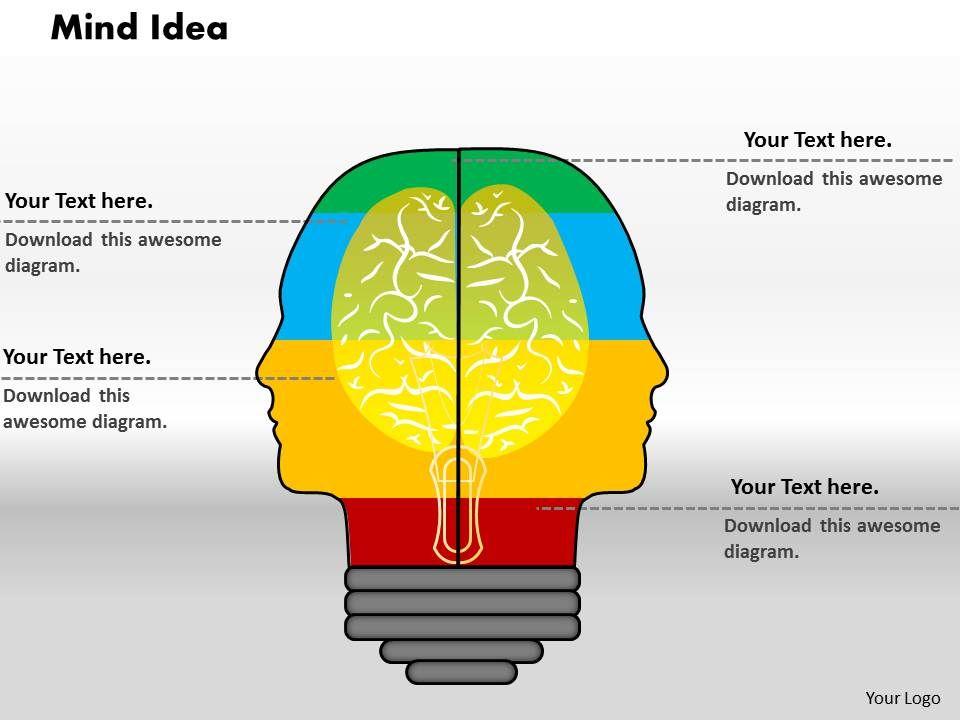 0414_human_brain_bar_chart_illustration_powerpoint_graph_Slide01