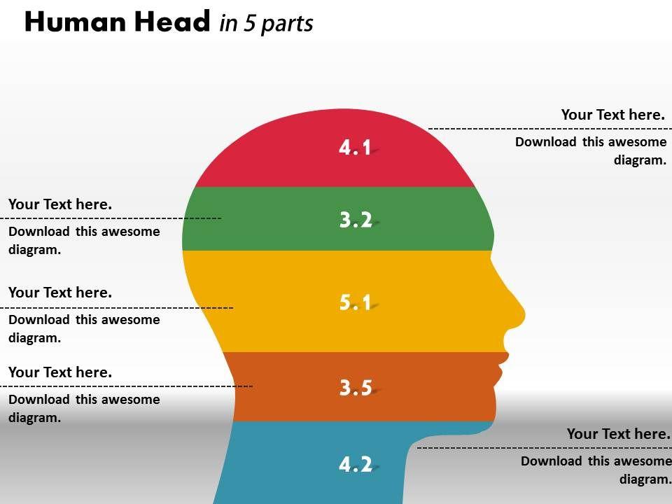 0414_human_head_ratio_bar_chart_powerpoint_graph_Slide01