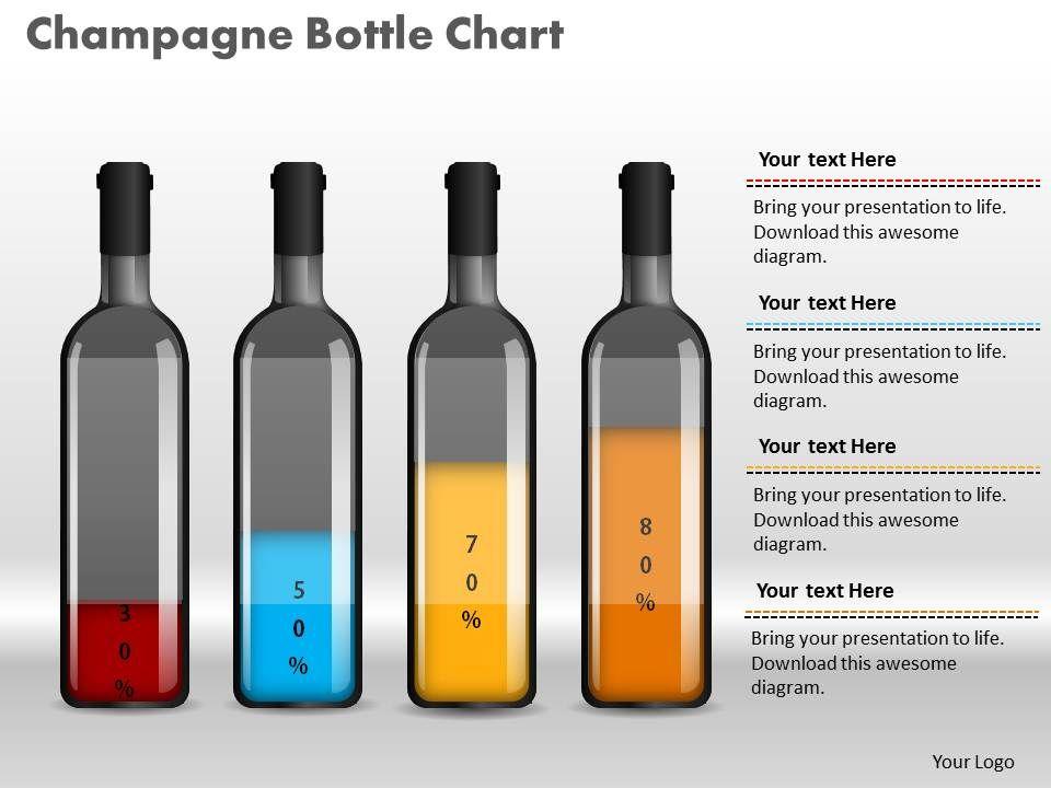 0414_percentage_increase_champagne_bottle_column_chart_powerpoint_graph_Slide01