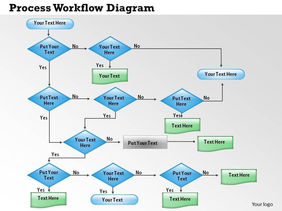 business powerpoint templates arrow process workflow diagram 4, Presentation templates