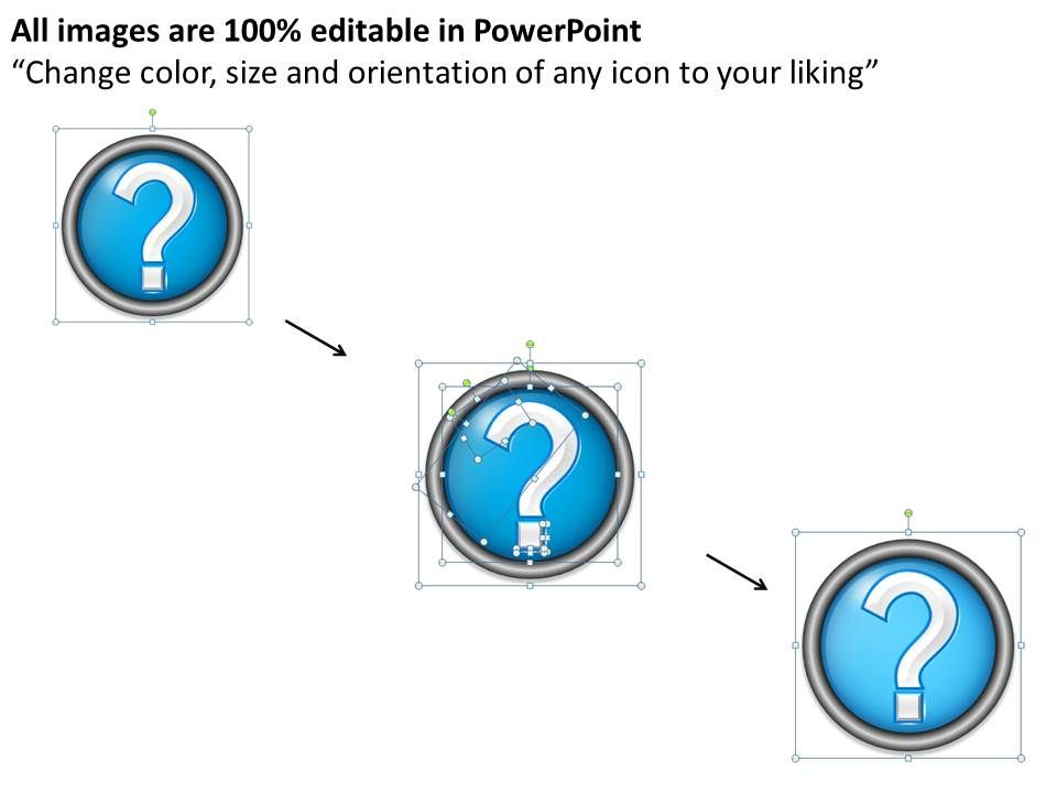 0414 question mark template powerpoint presentation presentation