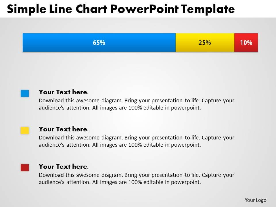0414_simple_bar_chart_with_percentage_powerpoint_graph_Slide01