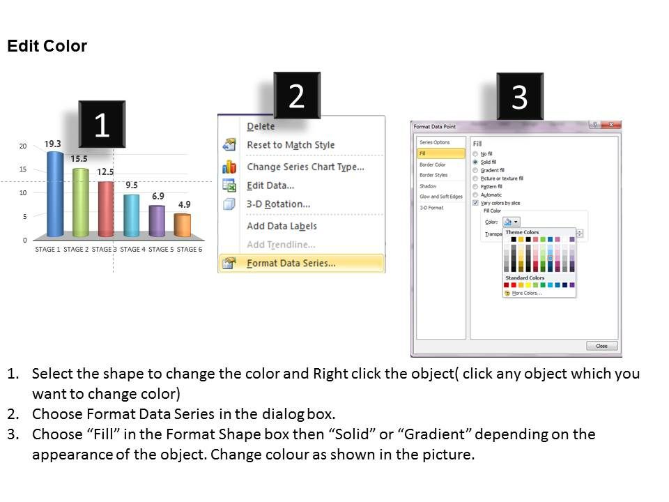 how to make a column visible google slides