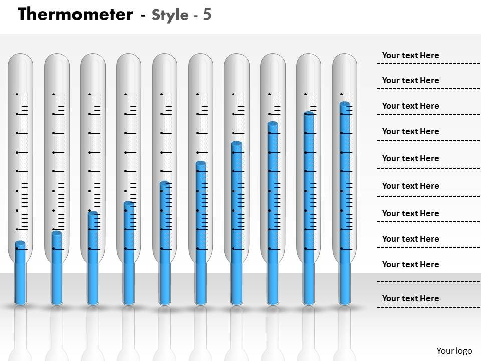 0414_thermometer_column_chart_with_10_stages_powerpoint_graph_Slide01