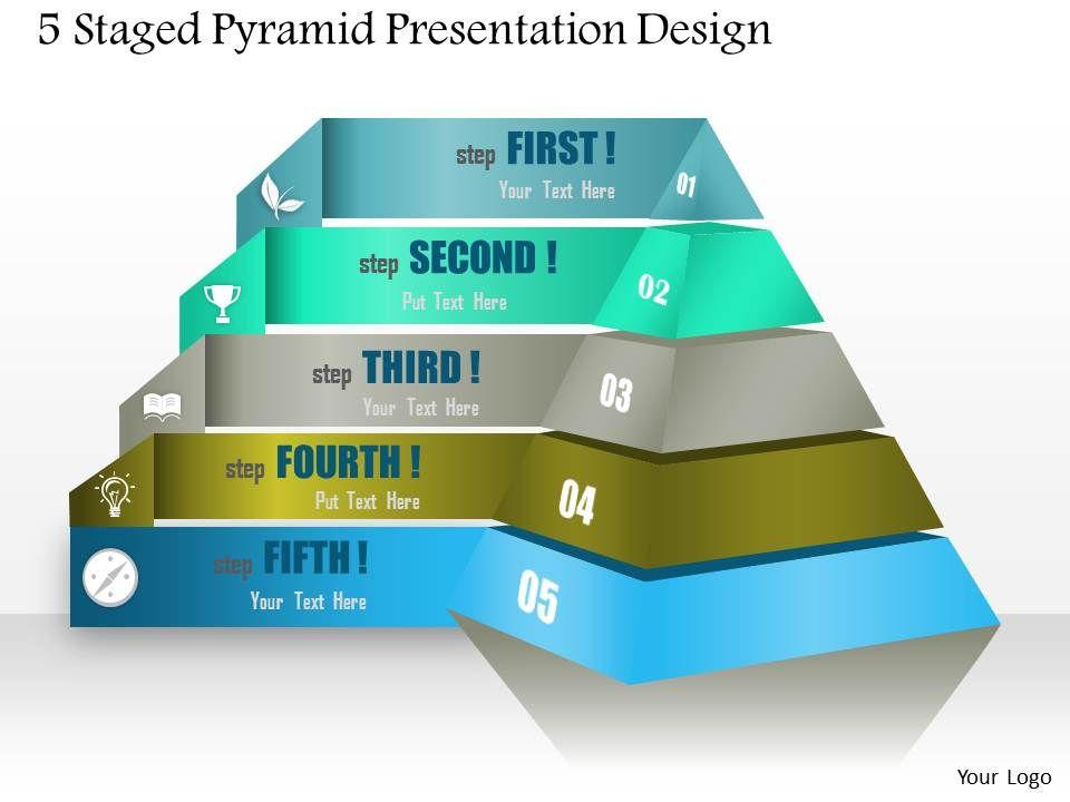 0514 5 staged pyramid presentation design powerpoint presentation