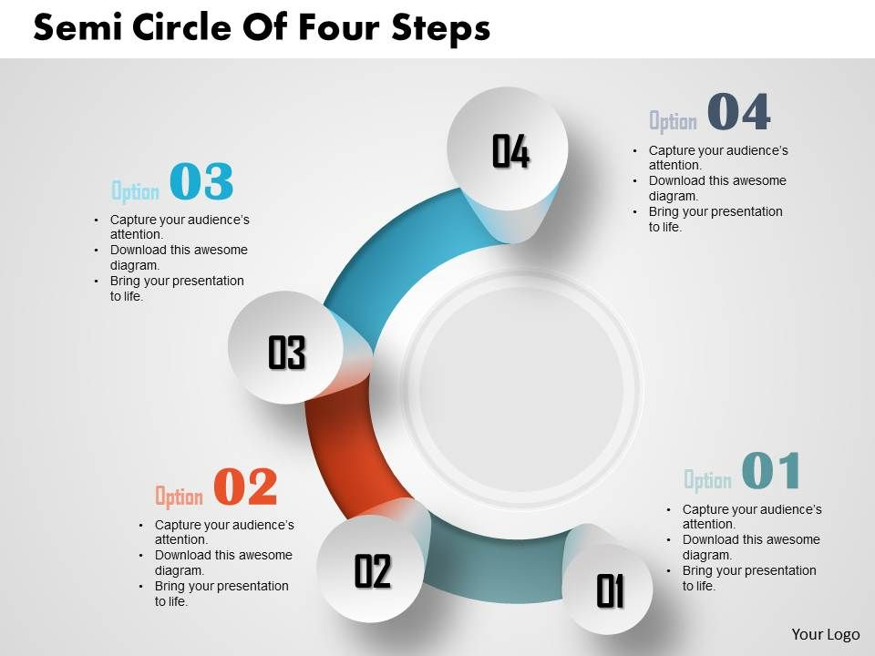 0514_business_consulting_diagram_semi_circle_of_four_steps_powerpoint_slide_template_Slide01