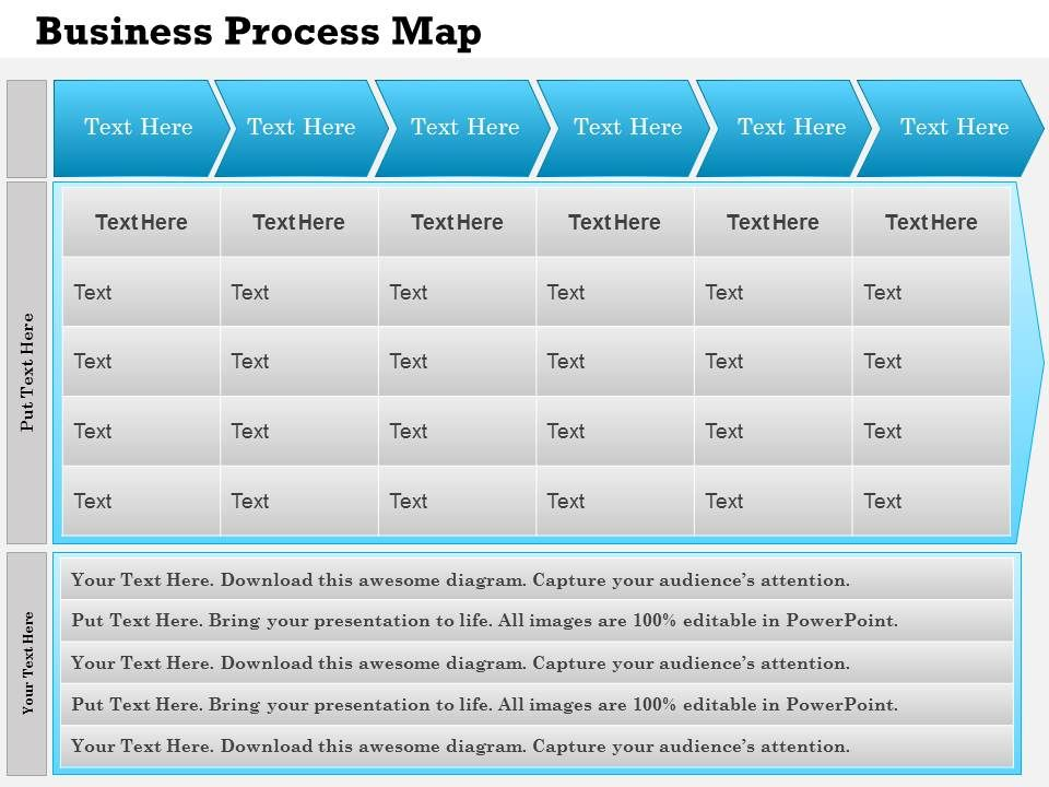 0514 business process mapping template powerpoint presentation