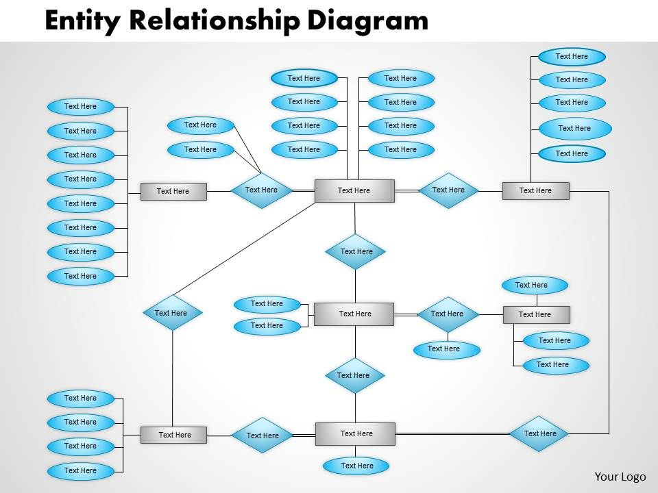 Entity Relationship Diagram Powerpoint Presentation