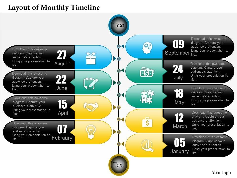0514 layout of monthly timeline powerpoint presentation templates 0514layoutofmonthlytimelinepowerpointpresentationslide01 0514layoutofmonthlytimelinepowerpointpresentationslide02 toneelgroepblik Image collections