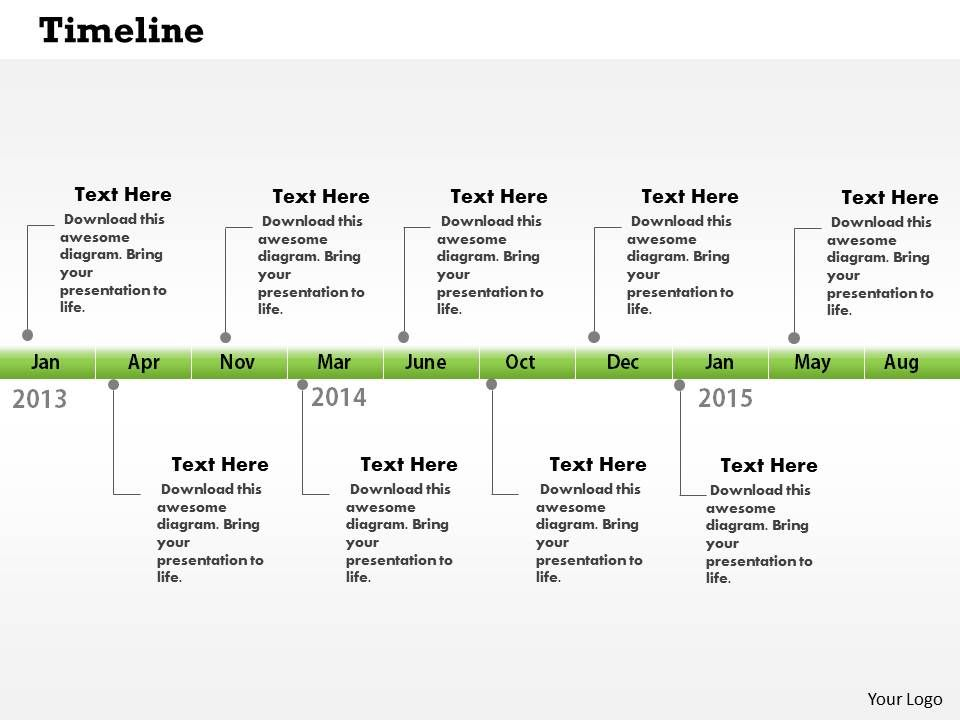 0514_monthly_target_growth_time_line_diagram_powerpoint_slides_Slide01