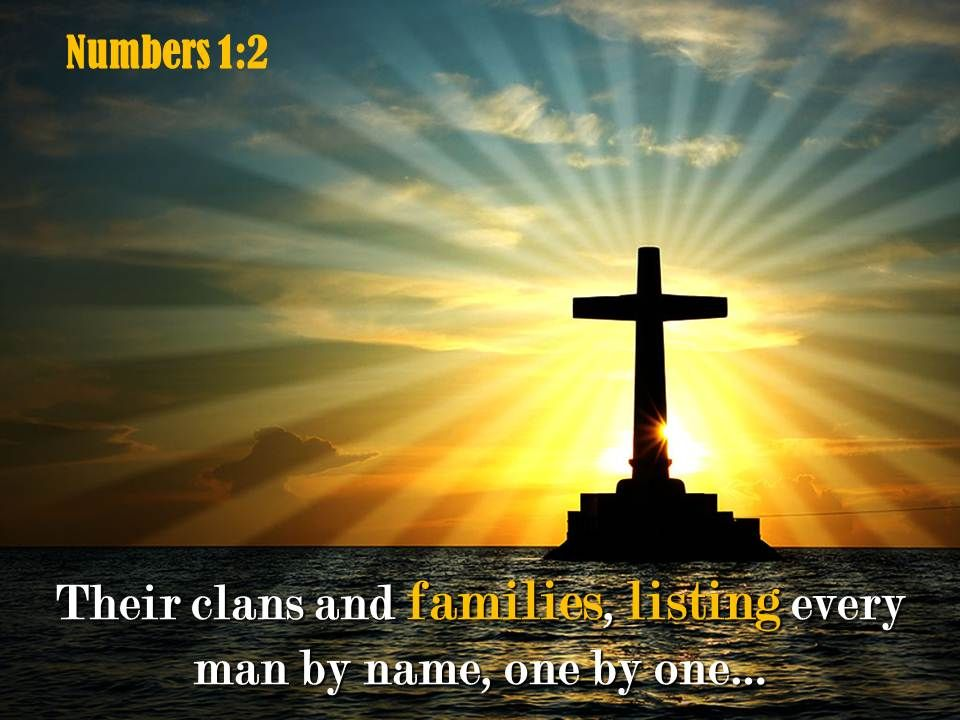 0514 Numbers 12 Their Clans And Families Powerpoint Church