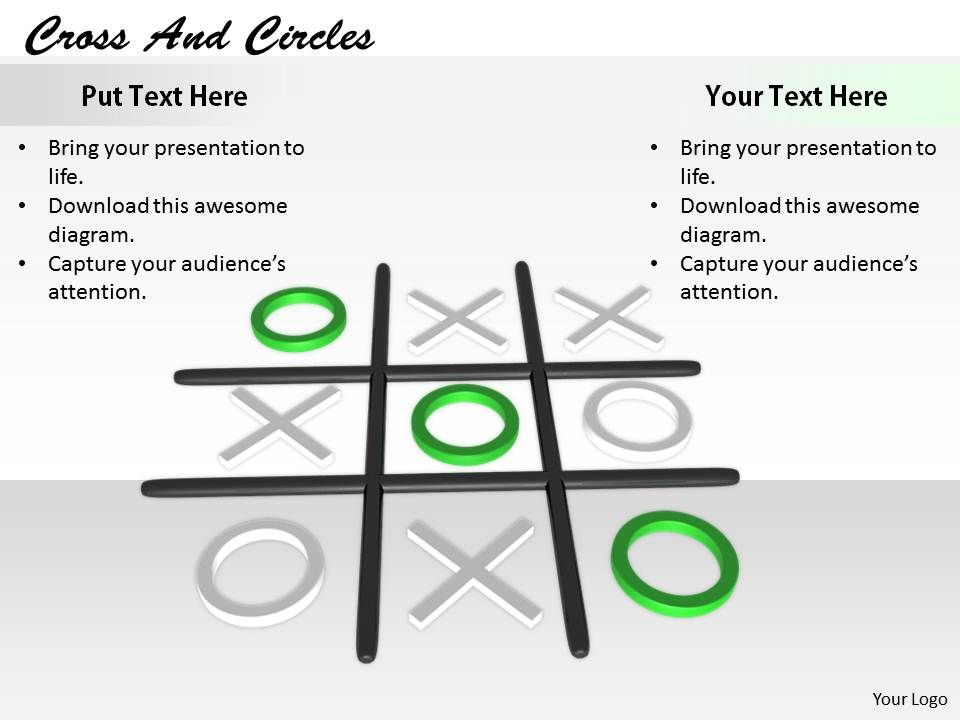 0514 Tic Tac Toe Cross Zero Game Image Graphics For Powerpoint