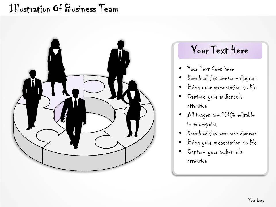 77227666 style division donut 5 piece powerpoint presentation diagram infographic slide