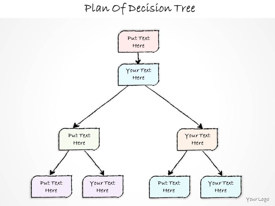 0614 Business Ppt Diagram Plan Of Decision Tree Powerpoint