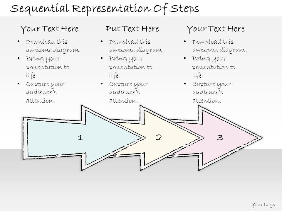 0614_business_ppt_diagram_sequential_representation_of_steps_powerpoint_template_Slide01