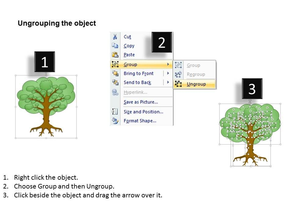 0614 Internet Marketing Strategy Tree Diagram Powerpoint