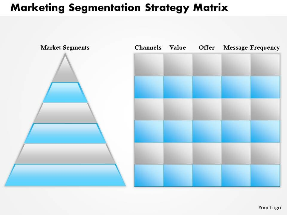 market segmentation template