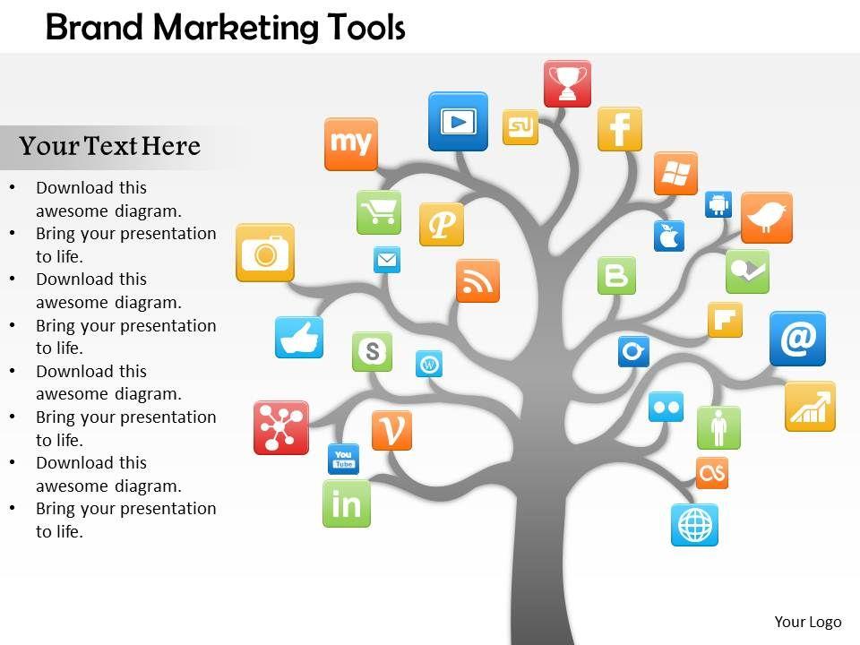 0614_social_media_diagram_for_brand_marketing_powerpoint_template_slide_Slide01