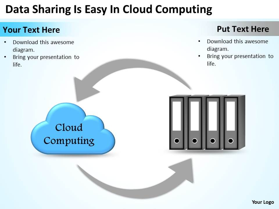 0620 Business Presentations Examples Cloud Computing Powerpoint