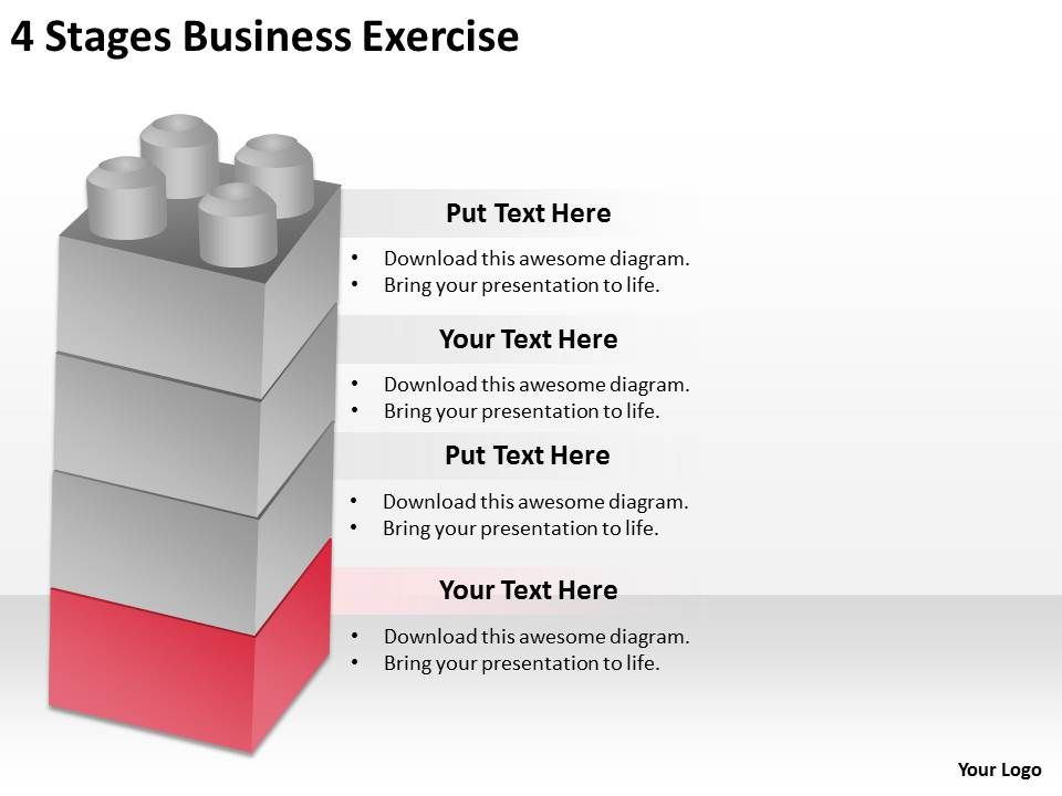 0620 corporate strategy 4 stages business exercise powerpoint, Modern powerpoint