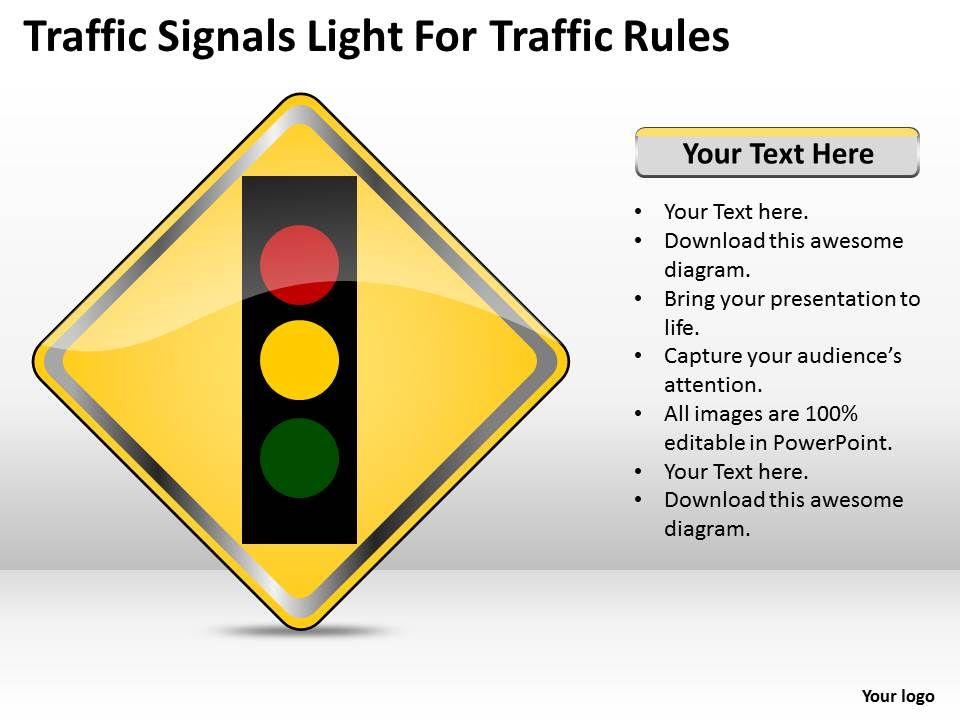 0620 marketing plan traffic signals light for rules powerpoint