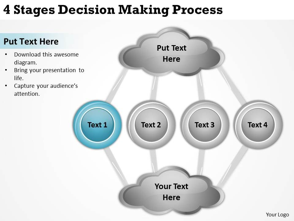 Technology Management Image: 0620 Top Management Consulting Business 4 Stages Decision