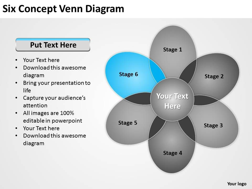 Technology Management Image: 0620 Top Management Consulting Business Six Concept Venn