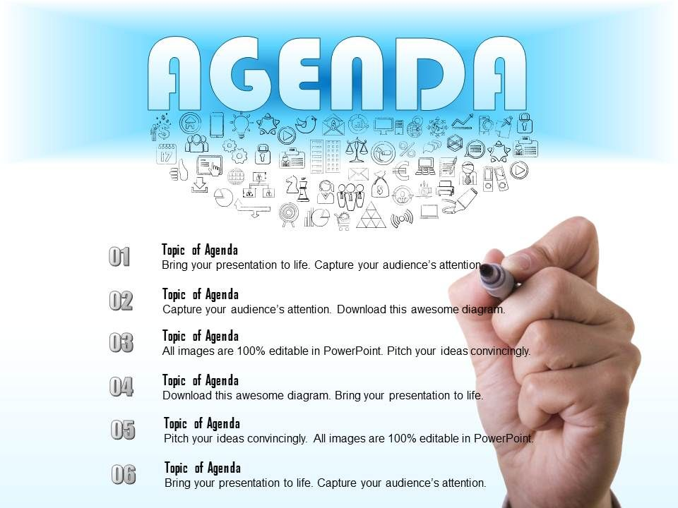 Business powerpoint agenda slides agenda presentation business 0714businessconsultingwriteanagendaforameetingpowerpointslidetemplateslide01 toneelgroepblik
