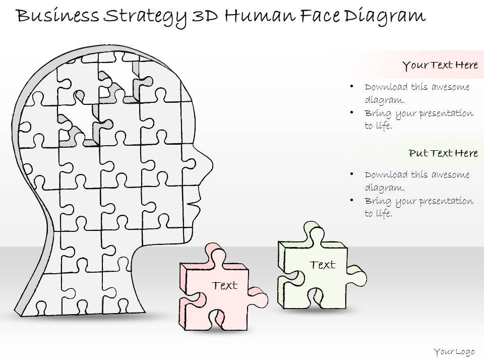 0714_business_ppt_diagram_business_strategy_3d_human_face_diagram_powerpoint_template_slide01