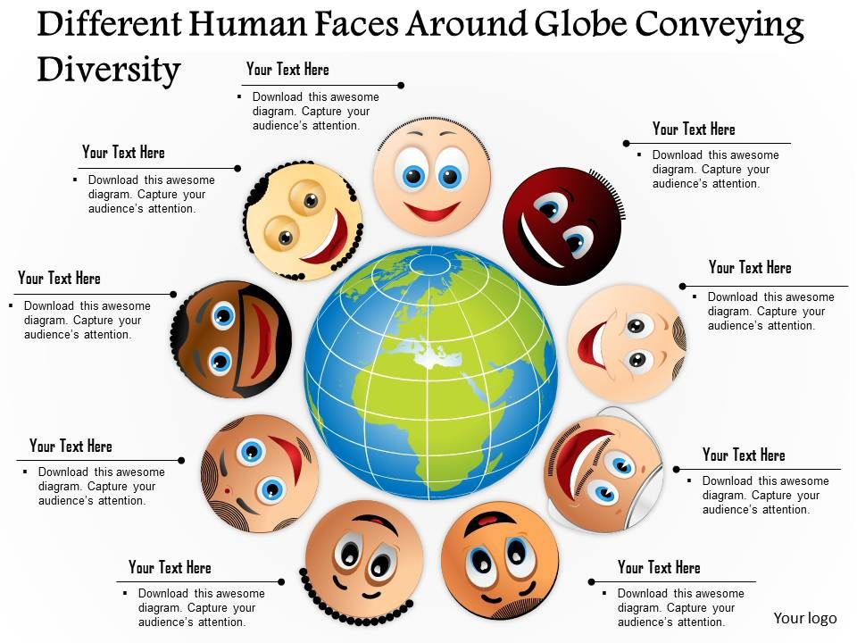 0814 business consulting diagram different human faces around globe 0814businessconsultingdiagramdifferenthumanfacesaroundglobeconveyingdiversitypowerpointslidetemplateslide01 toneelgroepblik Gallery