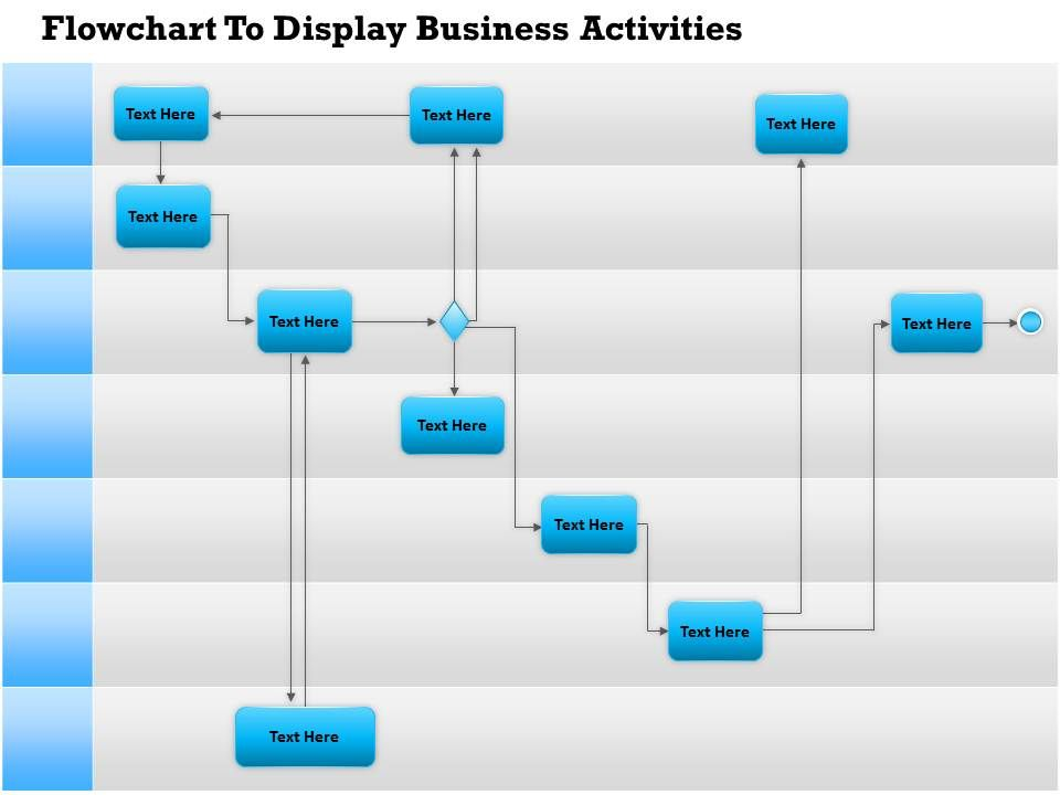 0814 Business Consulting Diagram Flowchart To Display