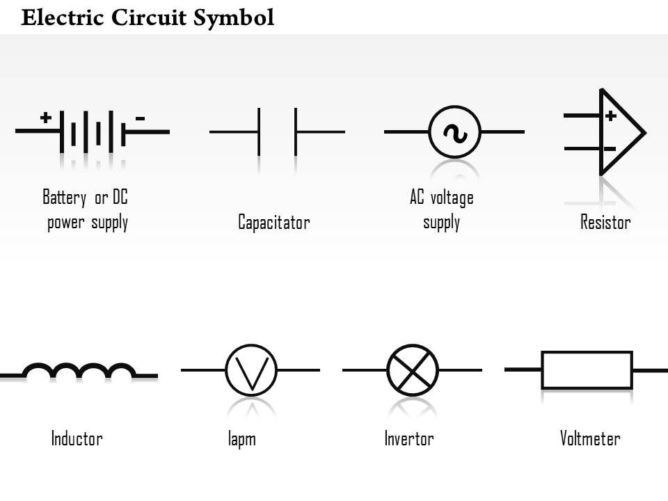 [SODI_2457]   0814 Electric Circuit Symbol Diagrams Capacitor Resistor Inductor Invertor  Voltmeter Ppt Slides | Presentation PowerPoint Templates | PPT Slide  Templates | Presentation Slides Design Idea | Resistors Wiring Diagram Symbols |  | SlideTeam