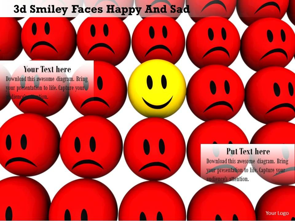 0914_3d_smiley_faces_happy_and_sad_customer_satisfaction_image_slide_image_graphics_for_powerpoint_Slide01