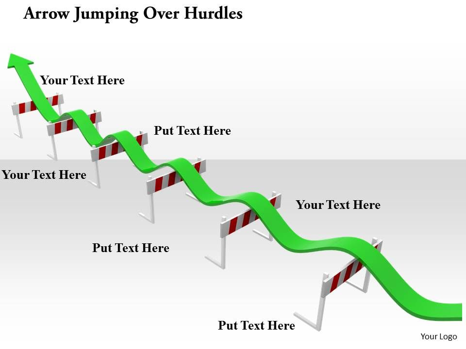 0914_arrow_jumping_over_hurdles_image_graphics_for_powerpoint_Slide01