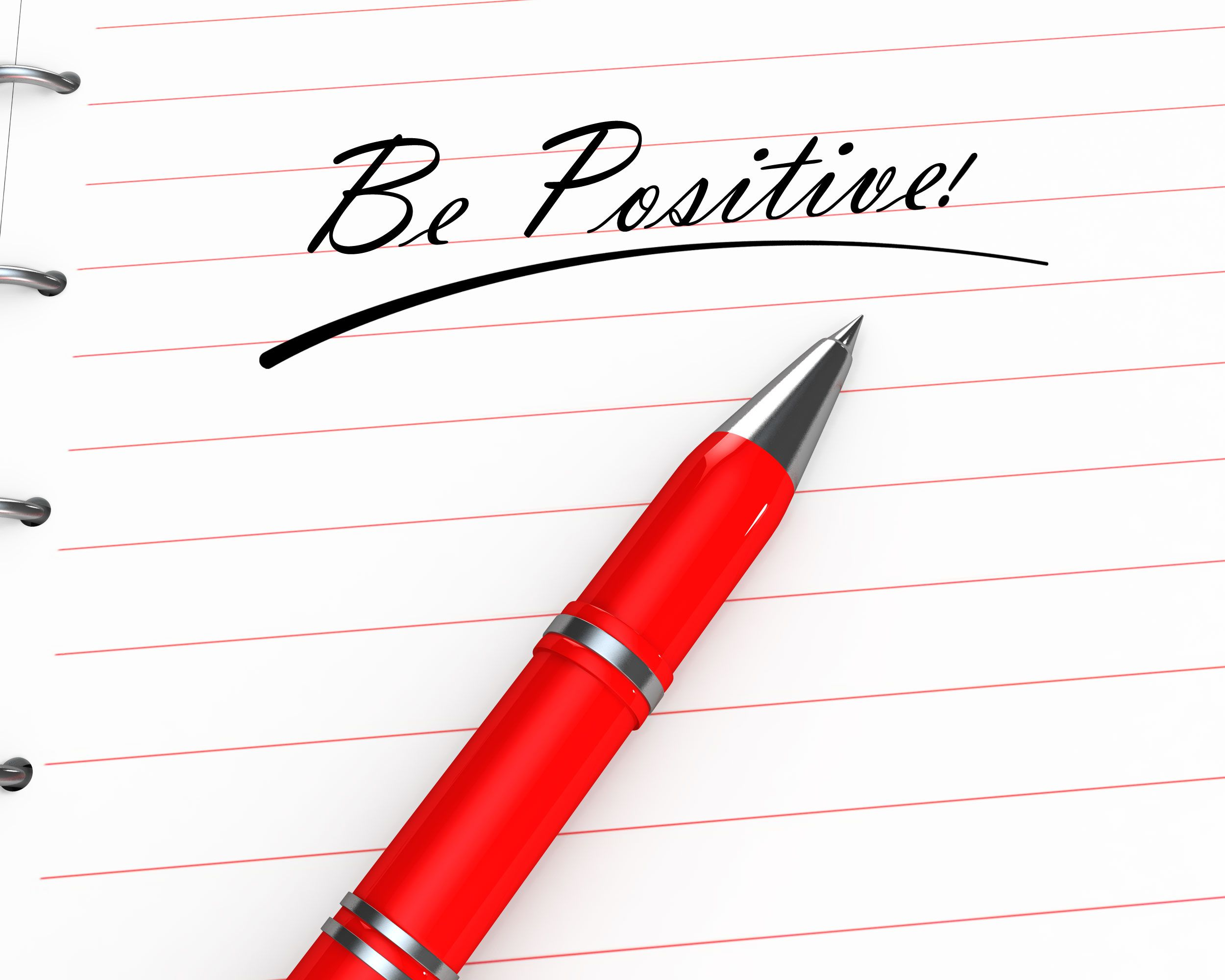 0914_be_positive_text_on_notebook_with_pen_stock_photo_Slide01