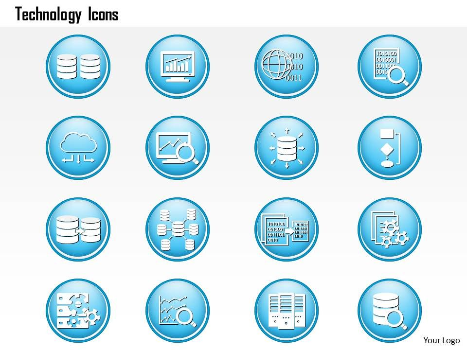 0914_big_data_technology_icons_analytics_storage_replication_dashboard_magnify_ppt_slide_Slide01