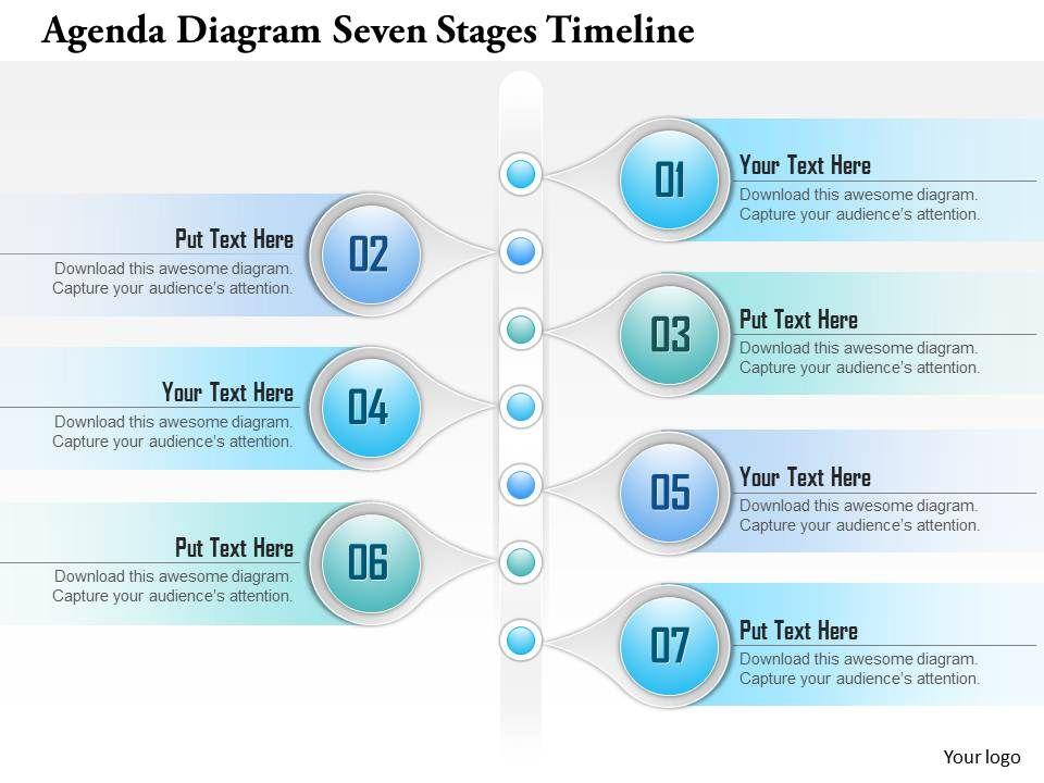 0914_business_plan_agenda_diagram_seven_stages_timeline_powerpoint_presentation_template_Slide01 0914 business plan agenda diagram seven stages timeline powerpoint
