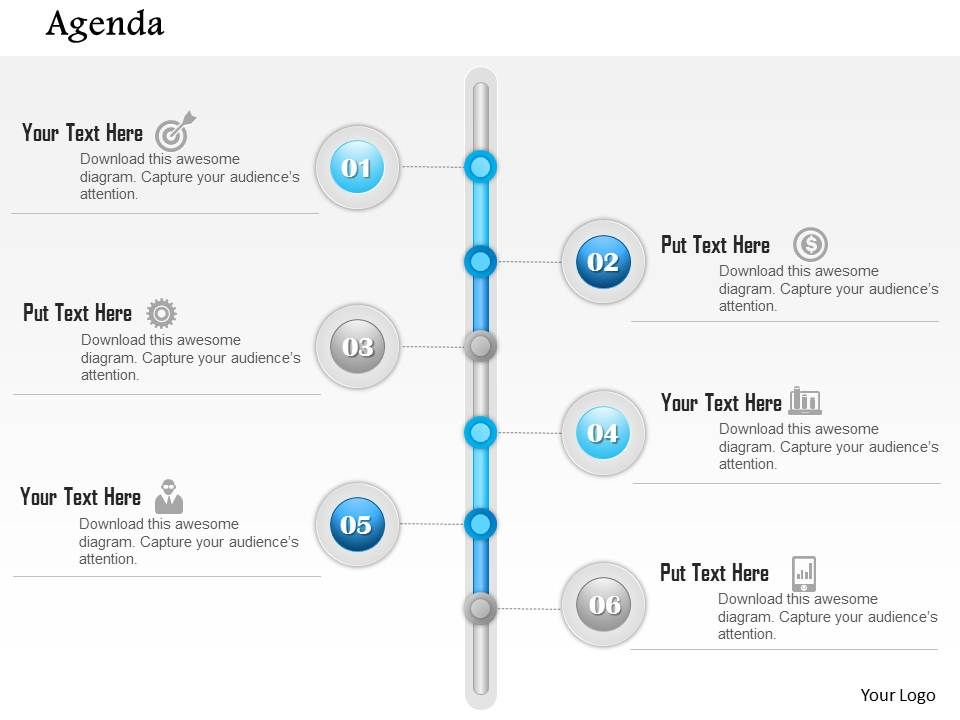 0914_business_plan_six_point_timeline_agenda_diagram_powerpoint_presentation_template_Slide01 0914 business plan six point timeline agenda diagram powerpoint