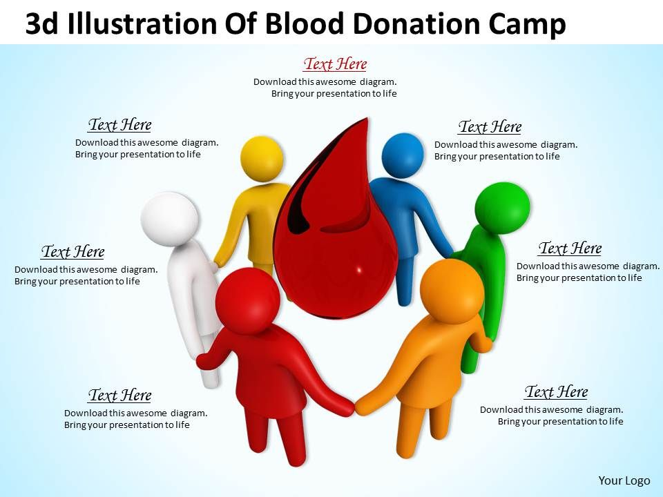 1013_3d_illustration_of_blood_donation_camp_ppt_graphics_icons_powerpoint_Slide01