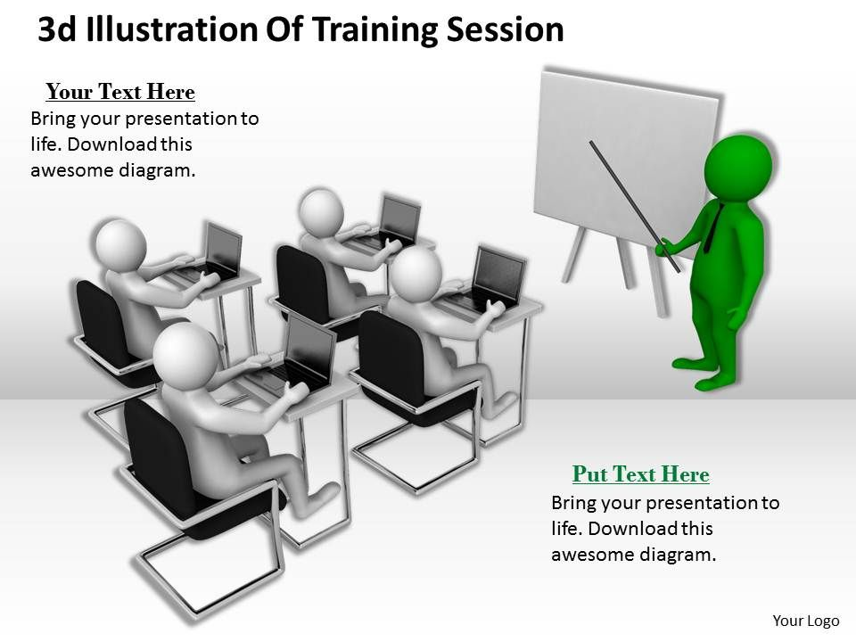 1013_3d_illustration_of_training_session_ppt_graphics_icons_powerpoint_Slide01