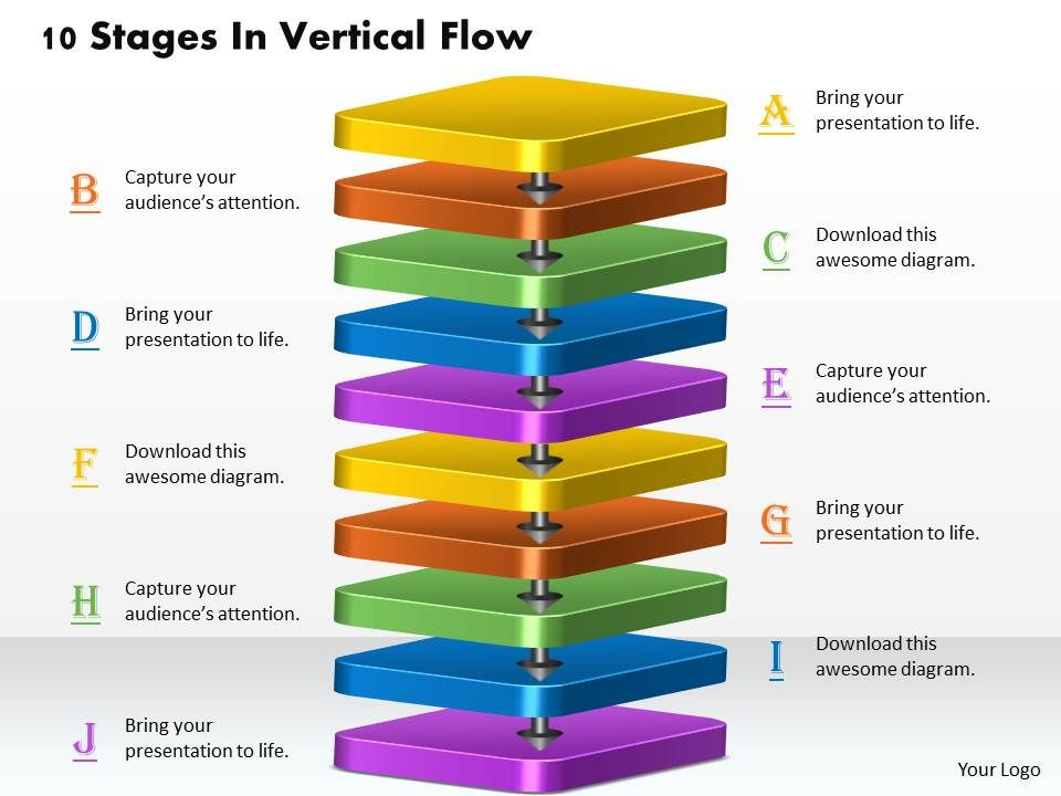 1013_busines_ppt_diagram_10_stages_in_vertical_flow_powerpoint_template_Slide01