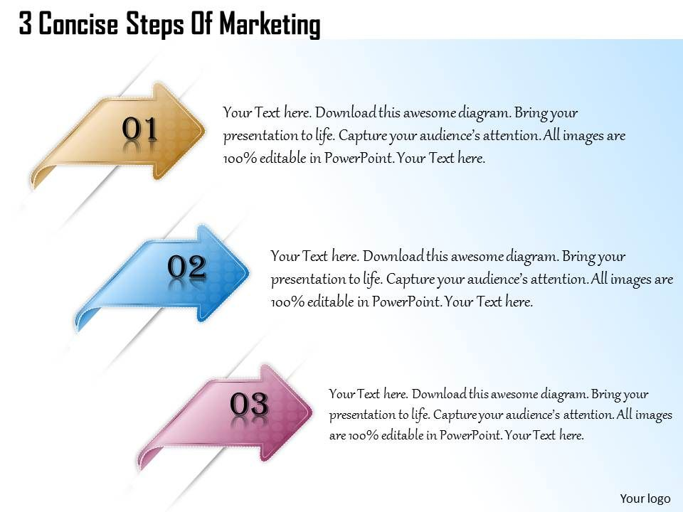 1013_busines_ppt_diagram_3_concise_steps_of_marketing_powerpoint_template_Slide01