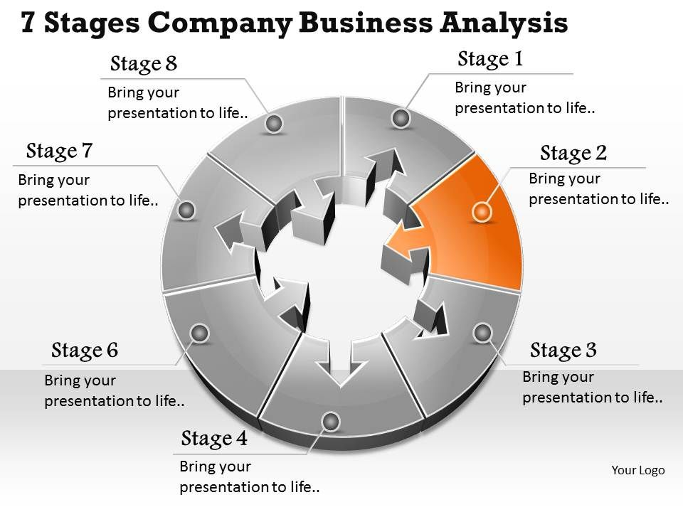 Busines Ppt Diagram  Stages Company Business Analysis
